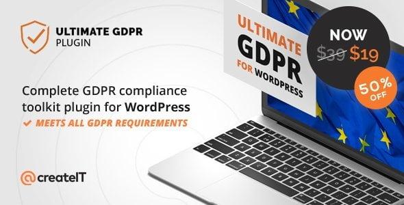 Ultimate GDPR Wordpress plugin