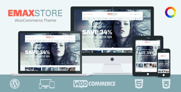 Emaxstore – Multipurpose Ecommerce Wordpress Theme